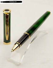 Waterman Preface Rollerball in Green-Marble-Gold