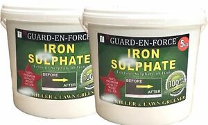 10KG IRON SULPHATE GRASS GREENER & MOSS KILLER (Dilutes to 2,000-10,000 Litres)