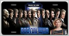 L@@K! All the Doctors  inc. Jody - Vanity License Plate Tardis Dr Who The Doctor