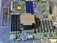 SuperMicro X8DTH-iF,1366,IPMI + Xeon X5650 CPU & sink + 12GB  ECC ram + I/Oplate