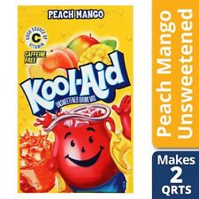 Kool-Aid Peach Mango Unsweetened Drink Mix 0.15 oz. Packet Pack of 12