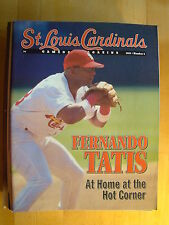 St. Louis Cardinals Magazine No 2 1999 Fernando Tatis Sportsman's Park Baseball