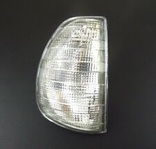 MERCEDES W123 1975-1985 O/S FRONT INDICATOR LIGHTS CLEAR LENS LAMP RIGHT DRIVER