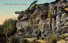 R166884 Lovers Seat. Fairlight. Hastings. 1927
