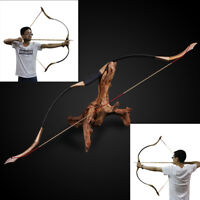 40lbs Archery Hunting Handmade Traditional Recurve Bow Mongolian Horse Longbow