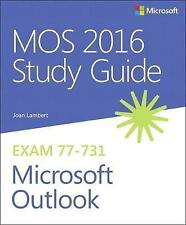 MOS 2016 Study Guide for Microsoft Outlook by Joan Lambert (Paperback, 2016)