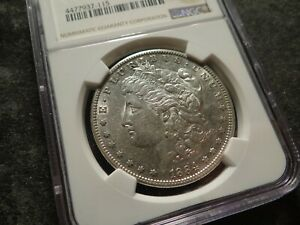 1884-S NGC XF 45 Lustrous Morgan Head Silver Dollar  SLABZ T2X