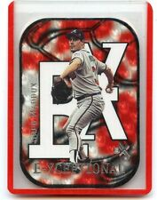 "2000 SKYBOX E-X #XC12 GREG MADDUX ""E-XCEPTIONAL"" DIE-CUT #90/1999 ATLANTA BRAVES"