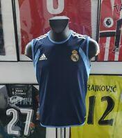 Maillot jersey shirt real madrid france om zidane 2003 2004 03/04 M vintage