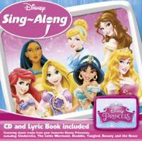 Disney Princess Sing-Along : Various Artists NEW CD Album (8732380     )