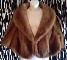 Vintage Beautiful Fur Cape/Stole/Shawl/Wrap W/ Collar Fox?
