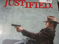 Justified DVD Set 1st 2nd 3rd Seasons New crime drama U.S. Marshal TV Series NEW