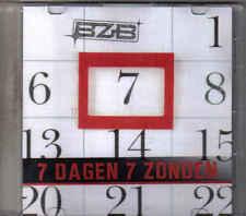 Band Zonder Banaan-7 Dagen 7 Zonden Promo cd single