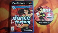DANCE FACTORY PAL ESP PLAYSTATION 2 PS2 ENVÍO 24/48H