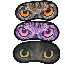 Best Eye Mask Travel Sleeping Eye Mask Sleep Aid Cover Cat Blindfold hc