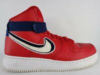 Men's Air Force 1 High '07 LV8 Sneakers [806403 603] Size 10.5 Red White Blue