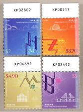 China Hong Kong 2018-31 港珠澳大橋 Hong Kong-Zhuhai-Macao Bridge Stamp Number Imprint