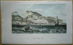 1848 print PORT LOUIS, MAURITIUS, INDIAN OCEAN (#6a)