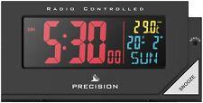 Precision Radio Controlled Atomic Colour Display Alarm Clock AP056