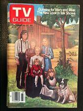 """1980 July 5-11 Original TV GUIDE """"LITTLE HOUSE ON THE PRAIRIE"""" Kansas City Ed NL"""