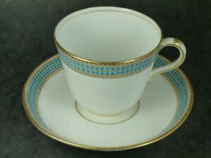 ANTIQUE-  JEWELLED & GILDED -CUP & SAUCER-?MINTON