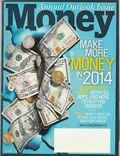 Money Magazine December 2013 FREE SHIPPING (Buy 1 Get others at 50% off )