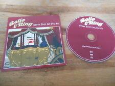 CD Pop Rollo & King - Never Ever Let You Go (1 Song) Promo EDEL / MEGA REC  cb