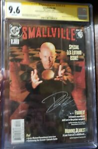 Smallville #3 CGC SS 9.6 Signed By Tom Welling and Michael Rosenbaum - Superman