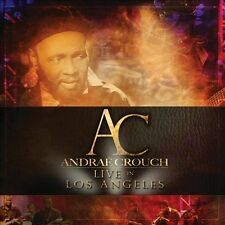 Live in Los Angeles [Digipak] by Andraé Crouch / Andrae (CD, Sep-2013, NEW)