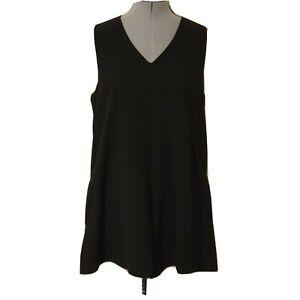 Luvalot Women's Size 8 Short Sleeve Black One-Piece Playsuit Jumpsuit X05