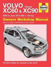 Manuale Haynes 5630 VOLVO XC60 & XC90 2.0 2.4 D5 se DIESEL 2003-giugno 2013 NUOVO