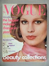 Vogue Magazine - October, 1975 -- Rosie Vela cover