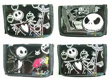 1set 4pcs The Nightmare Before Christmas children folding wallet purses bags