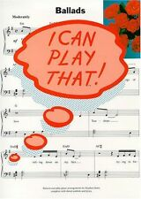 Ballads (I can play that!), New,  Book