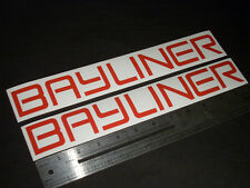 "Bayliner Boats Red Decal 12"" Stickers (Pair)"
