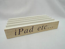 Shabby Chic Cream IPAD TABLET ETC..... Holder Stand