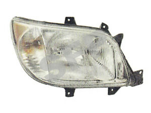 Headlight Assembly without Foglight Freightliner Sprinter: 901 820 19 61