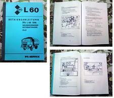IFA L60 Betriebsanleitung L 60 IFA W50 W 50 Robur