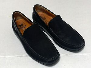 Mephisto Baduard Cool Air black Suede Slip On Casual Loafer Mens Sz 8 used few t
