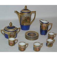 Vintage 20th Czechoslovakia Rare original Porcelain Tea service Set 14 pieces