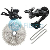 New 2021 Shimano Deore M4100 10-speed Drivetrain Upgrade Groupset 11-42t