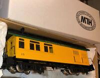HLW Hartland Locomotive Works V&T Virginia Truckee Passenger Combine Combo Car G