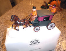 New, Dept 56 Dover Coach horse drawn carriage 6590-0 hand painted porcelain