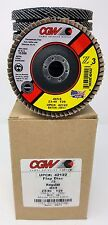 "(10-PACK) CGW CAMEL GRINDING WHEELS 42122 4""x 5/8"" 40 GRIT FLAP DISCS"