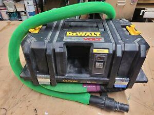 DEWALT FLEXVOLT 60V MAX Dust Extractor 2 gal 8' Hose DCV585 T Stak Vac Vacuum