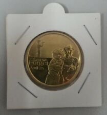 2009 ANZAC DAY LEST WE FORGET APRIL 25th $1 Coin Australia 2 x 2 Coin Holder