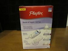 Playtex BPA Free Ventaire Bottle & Starter Gift Set New 3M+ 2 Bottles 4 Nipples