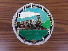 "Train Locomotive Engine 6"" Clock Face Plastic Self-Stick Part New ~ Ramar"