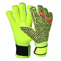 Swift Wear Goalkeeper Medius Cut Finger Saver Goalie Gloves Football Size 8/9/10