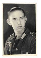 N106 2.WK * Junger Soldat in Uniform Porträt